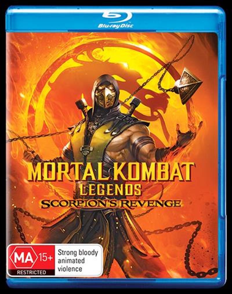 Mortal Kombat - Scorpion's Revenge   Blu-ray