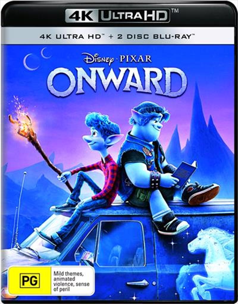 Onward | Blu-ray + UHD | UHD