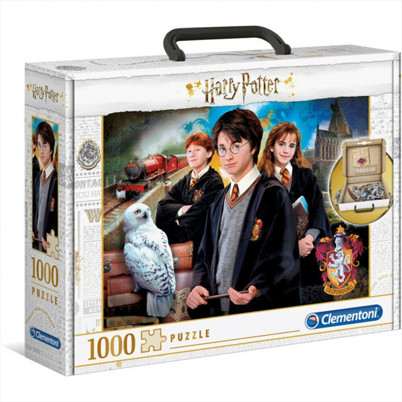 Harry Potter and the Chamber of Secrets Brief Case Puzzle 1000 Pieces | Merchandise