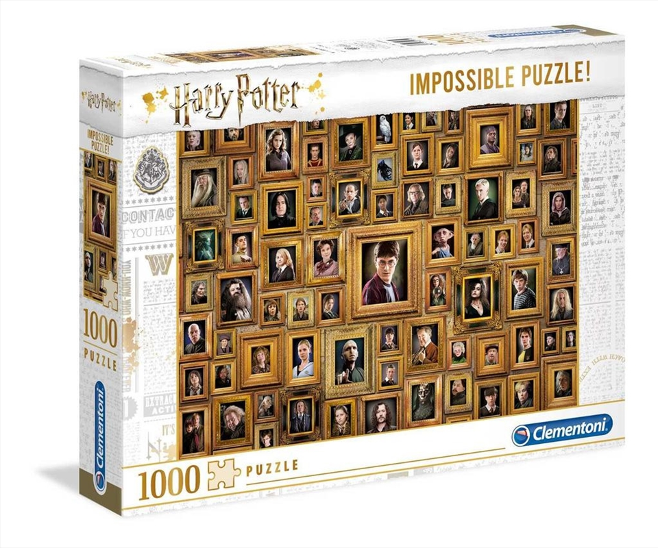 Harry Potter and the Chamber of Secrets Impossible Puzzle 1000 Pieces | Merchandise