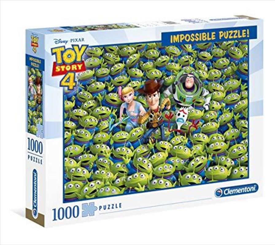 Toy Story 4 Impossible Disney Puzzle 1000 Pieces   Merchandise