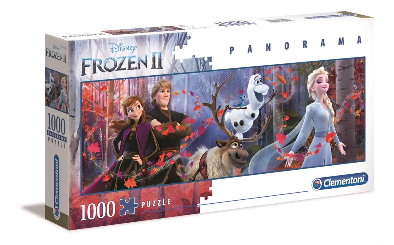 Disney Puzzle Frozen 2 Panorama 1000 Pieces Puzzle | Merchandise