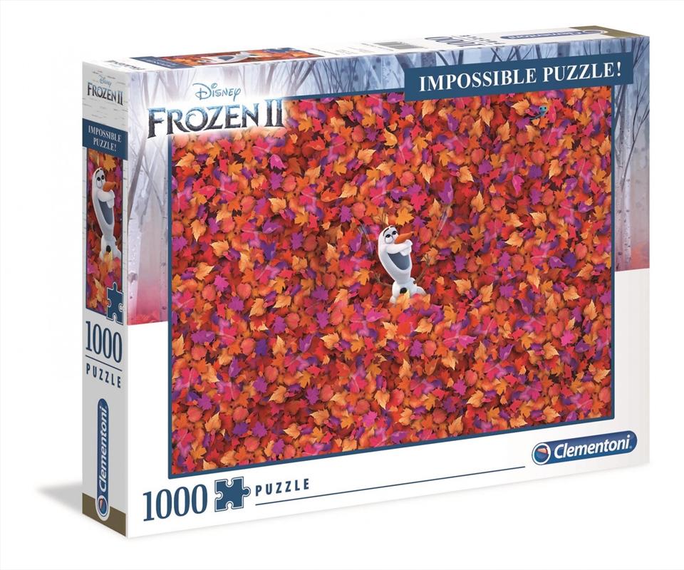 Frozen 2 Impossible Puzzle 1000 Pieces | Merchandise