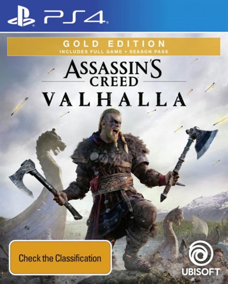 Assassins Creed Valhalla - Gold Edition | PlayStation 4