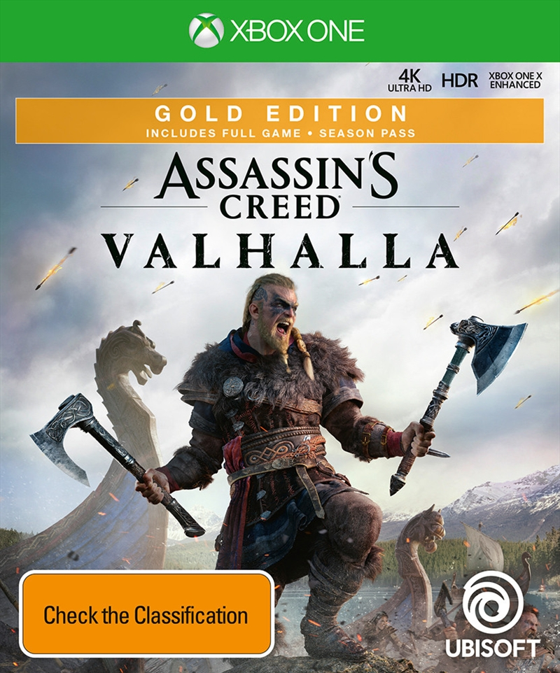 Assassins Creed Valhalla - Gold Edition   XBox One