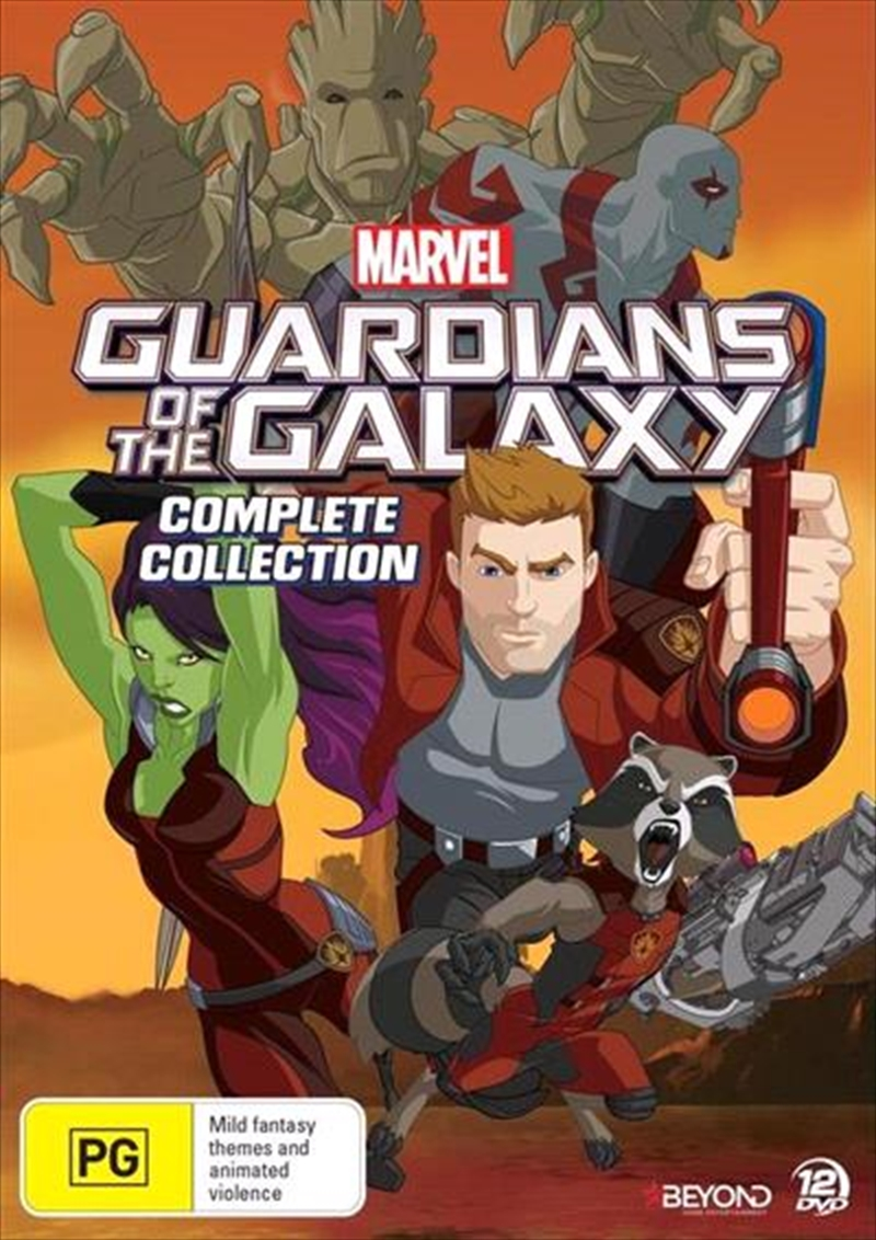 Guardians Of The Galaxy | Complete Collection | DVD