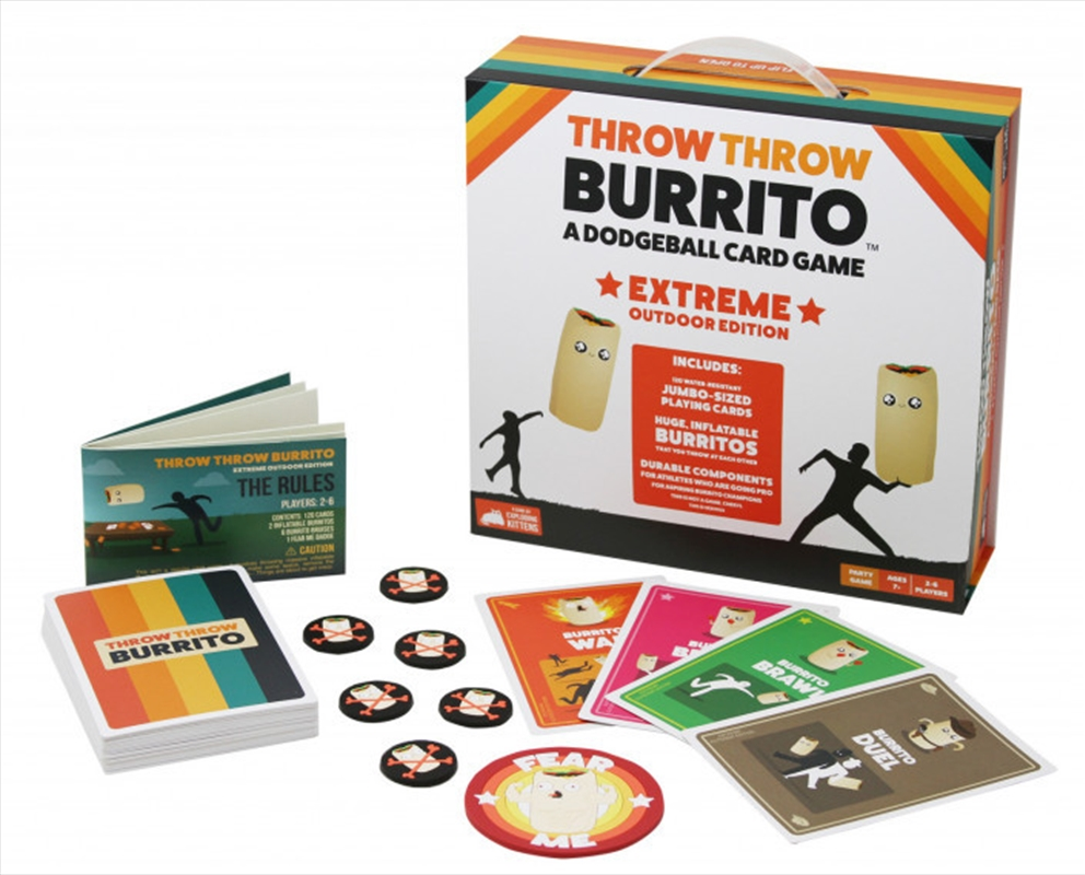 Throw Throw Burrito Extreme Outdoor Edition | Merchandise