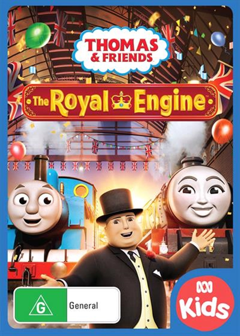 Thomas and Friends - The Royal Engine | DVD