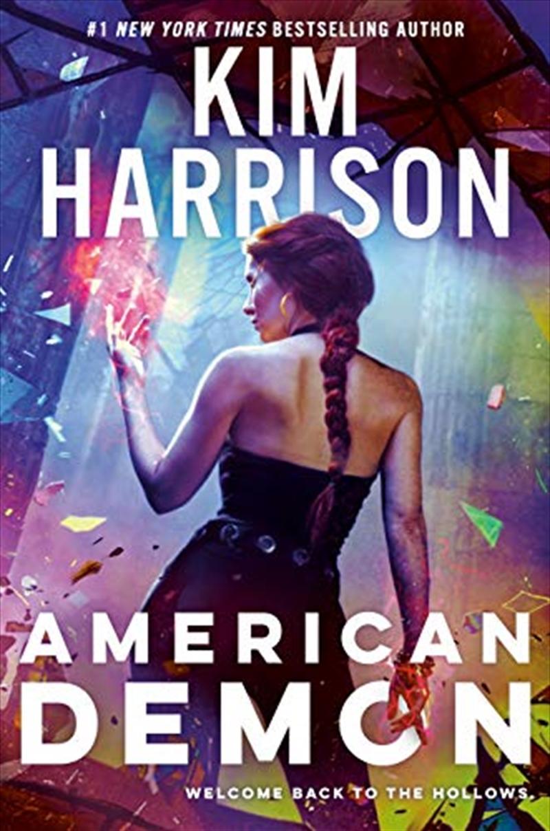 American Demon   Hardback Book