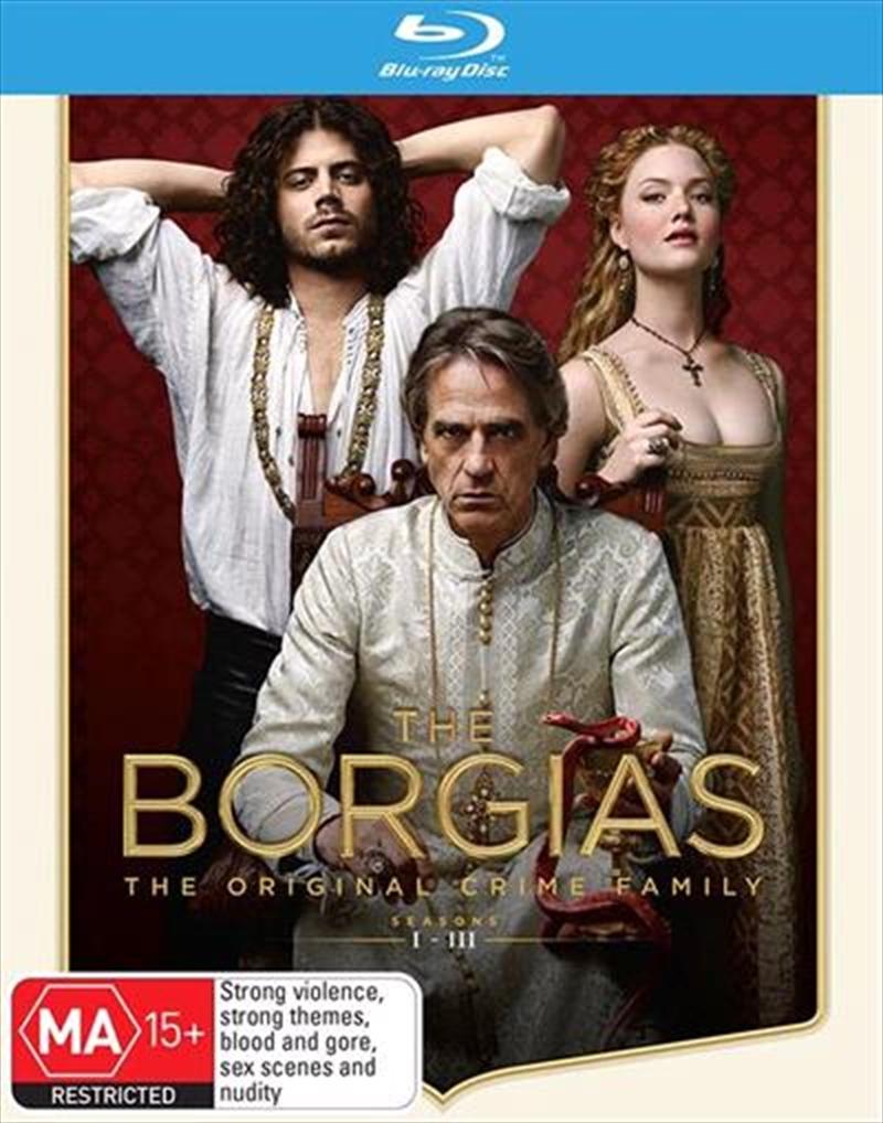 Borgias - Season 1-3   Boxset, The   Blu-ray