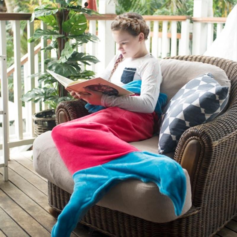 Kid Size Mermaid Blanket | Merchandise