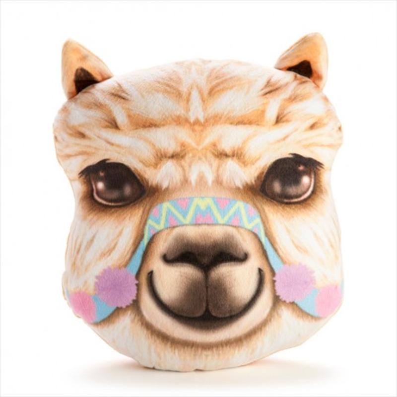 Alpaca Plush Cushion | Homewares