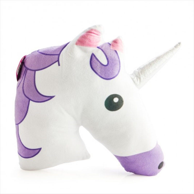 Purple Unicorn Plush Cushion | Homewares