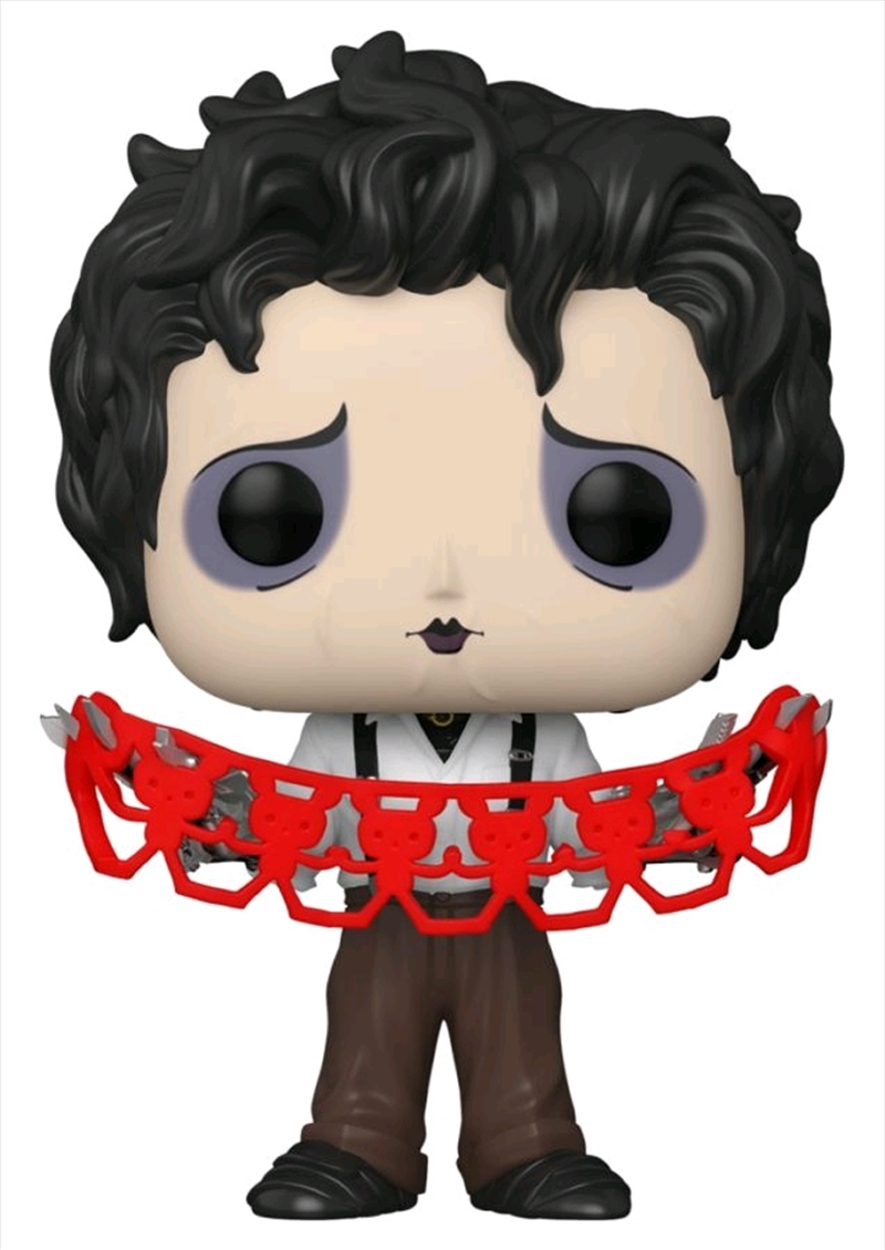 Edward Scissorhands - Edward with Kirigami US Exclusive Pop! Vinyl [RS] | Pop Vinyl
