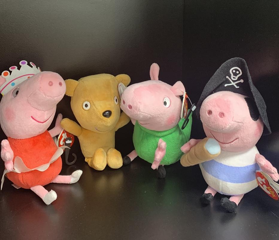 Peppa Pig Plush - Assorted Designs | Merchandise