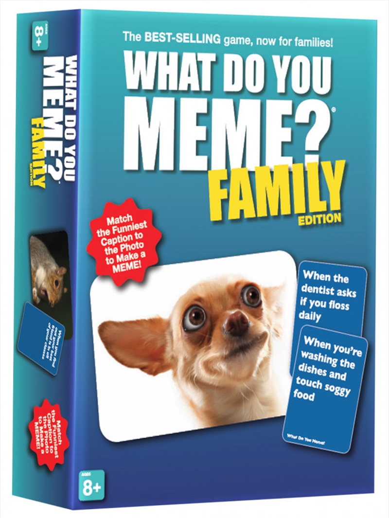 What Do You Meme? Family Edition | Merchandise