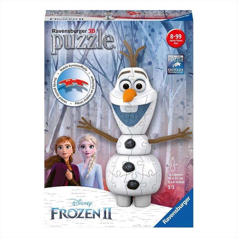 Frozen 2 Olaf 3D Puzzle 54pc | Merchandise