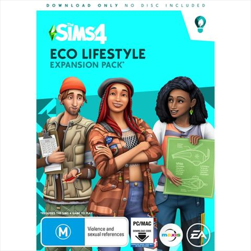 Sims 4 Exp 9 Eco Lifestyle (Expansion Pack) | PC