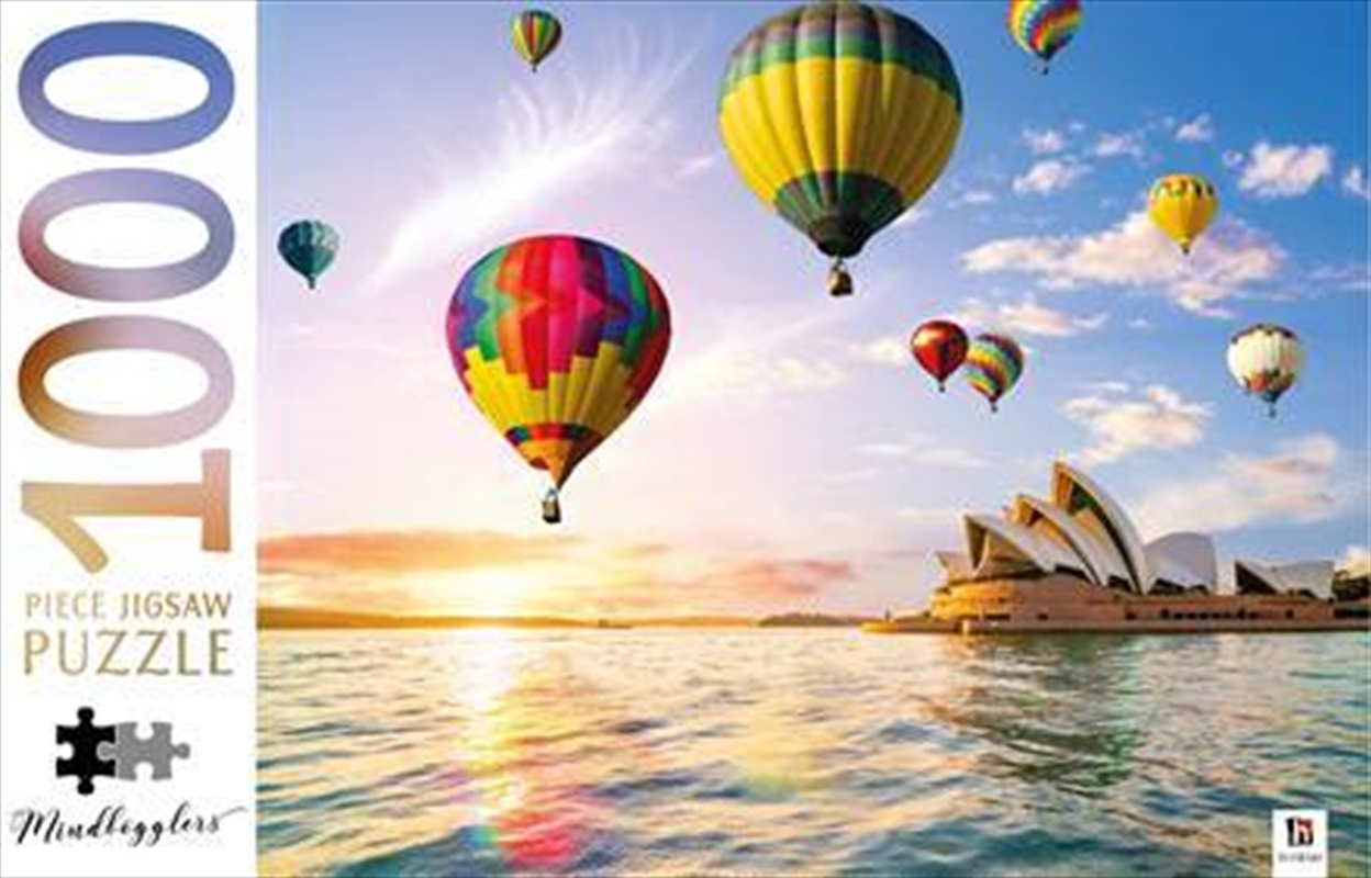 Sydney Opera House Australia 1000 Piece Puzzle   Merchandise