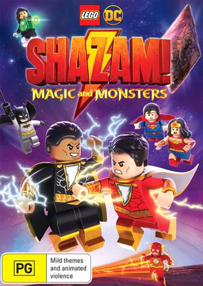 Lego DC - Shazam - Limited Edition | Gift With Purchase | DVD
