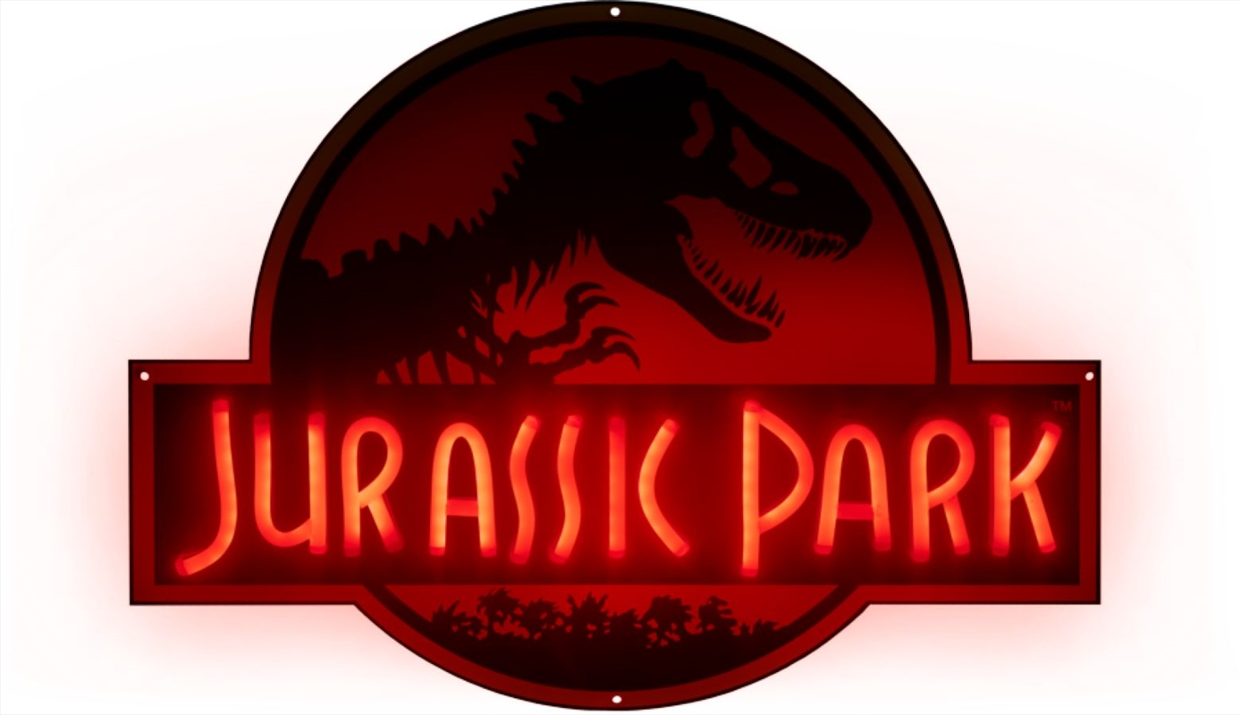 Jurassic Park - Logo Light-Up Neon Logo Sign	 | Collectable