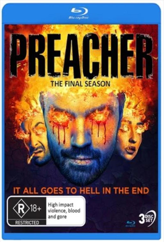 Preacher - Season 4   Blu-ray