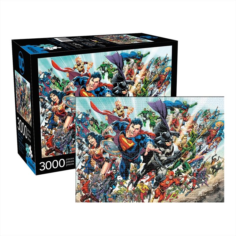 DC Comics Cast 3000pc Puzzle | Merchandise