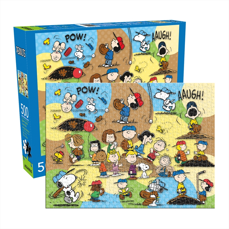 Peanuts Baseball 500 Piece Puzzle | Merchandise