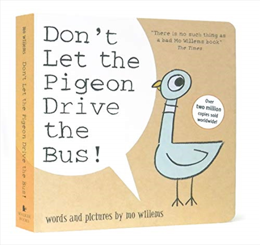 Don't Let The Pigeon Drive The Bus! | Board Book