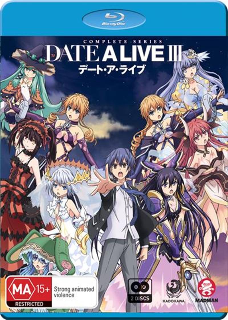 Date A Live III - Season 3 | Blu-ray