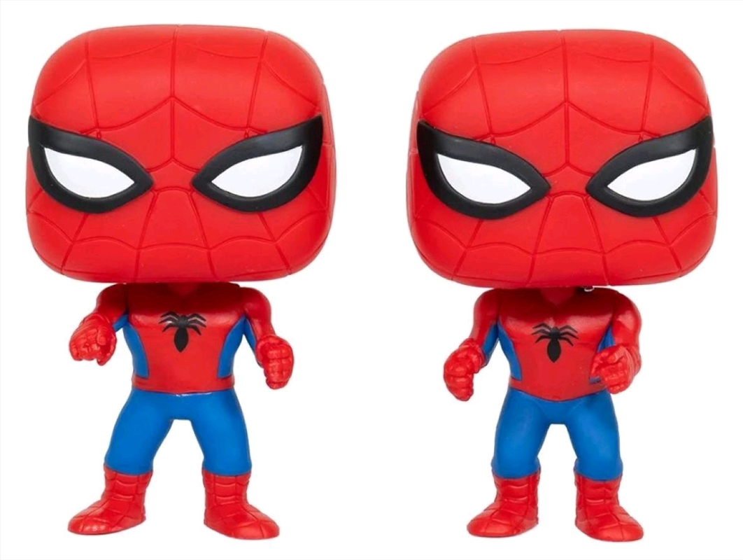 Spider-Man - Spider-Man vs Spider-Man US Exclusive Pop! Vinyl 2-pack [RS] | Pop Vinyl