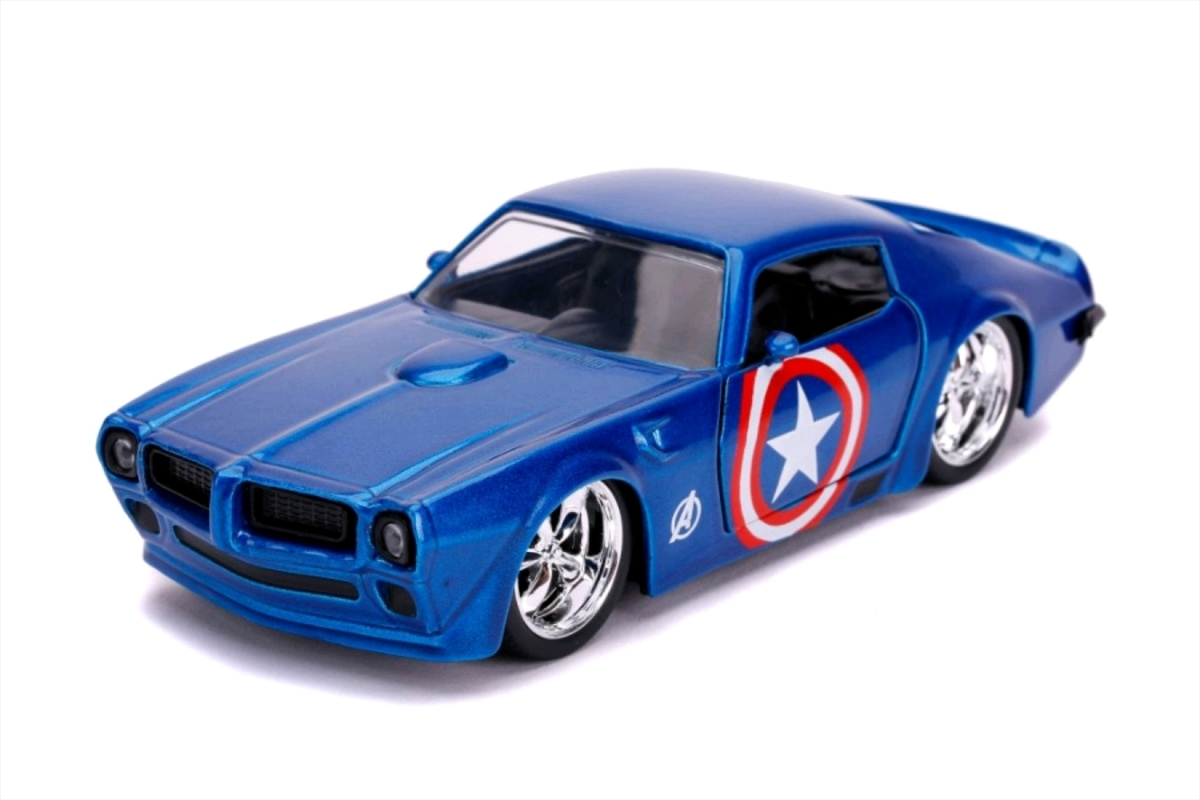 Captain America - Captain America 1972 Pontiac Firedbird 1:32 Scale Hollywood Ride | Merchandise