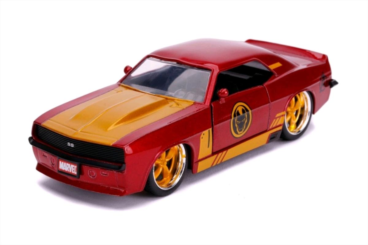 Iron Man - Iron Man 1969 Chevy Camaro 1:32 Scale Hollywood Ride   Merchandise