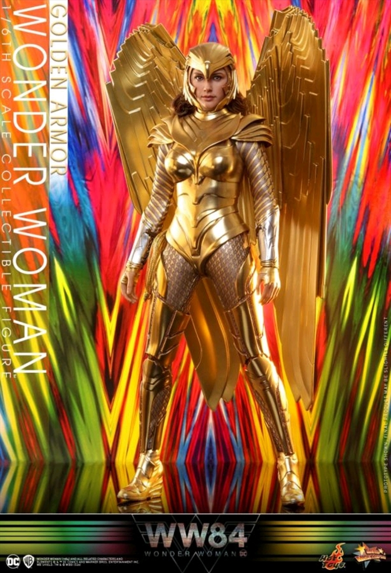 "Wonder Woman: 1984 - Golden Armor 1:6 Scale 12"" Action Figure | Merchandise"