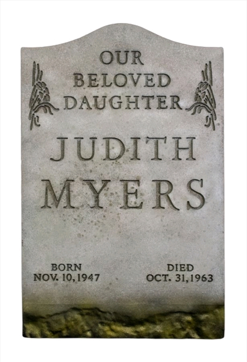 Halloween (1978) - Judith Myers Tombstone Prop Replica | Collectable