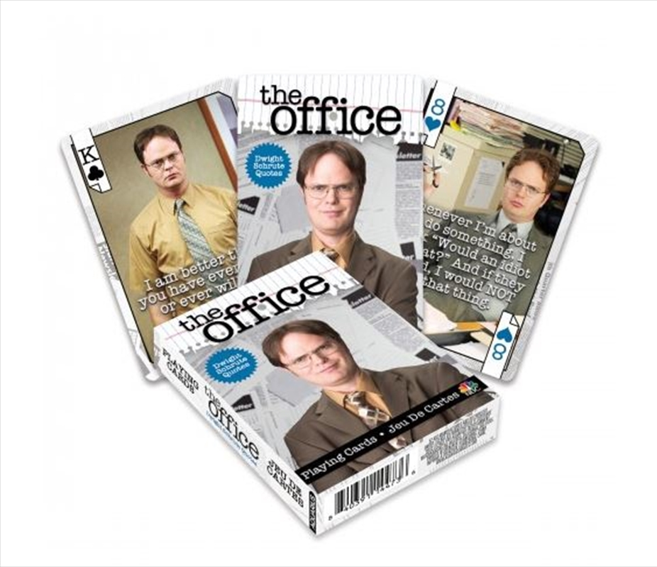 Dwight Quotes Playing Cards | Merchandise