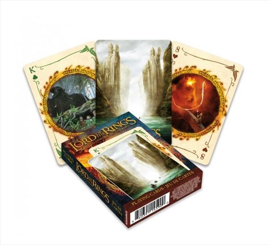 Fellowship Of The Ring Playing Cards | Merchandise