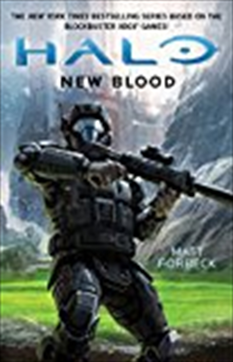 Halo: New Blood | Paperback Book