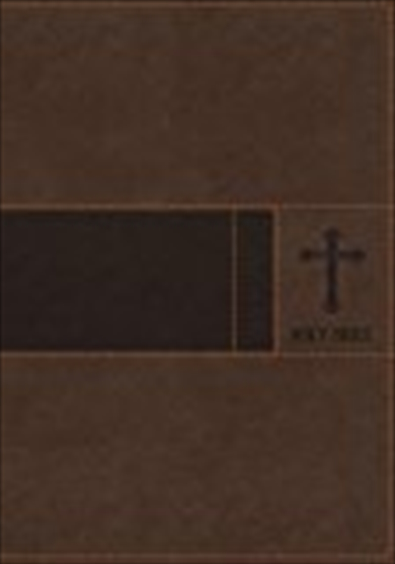 Niv, Gift Bible, Leathersoft, Brown, Red Letter Edition | Paperback Book