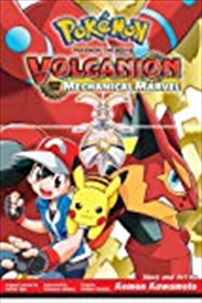 Pokémon The Movie: Volcanion And The Mechanical Marvel (pokemon) | Paperback Book
