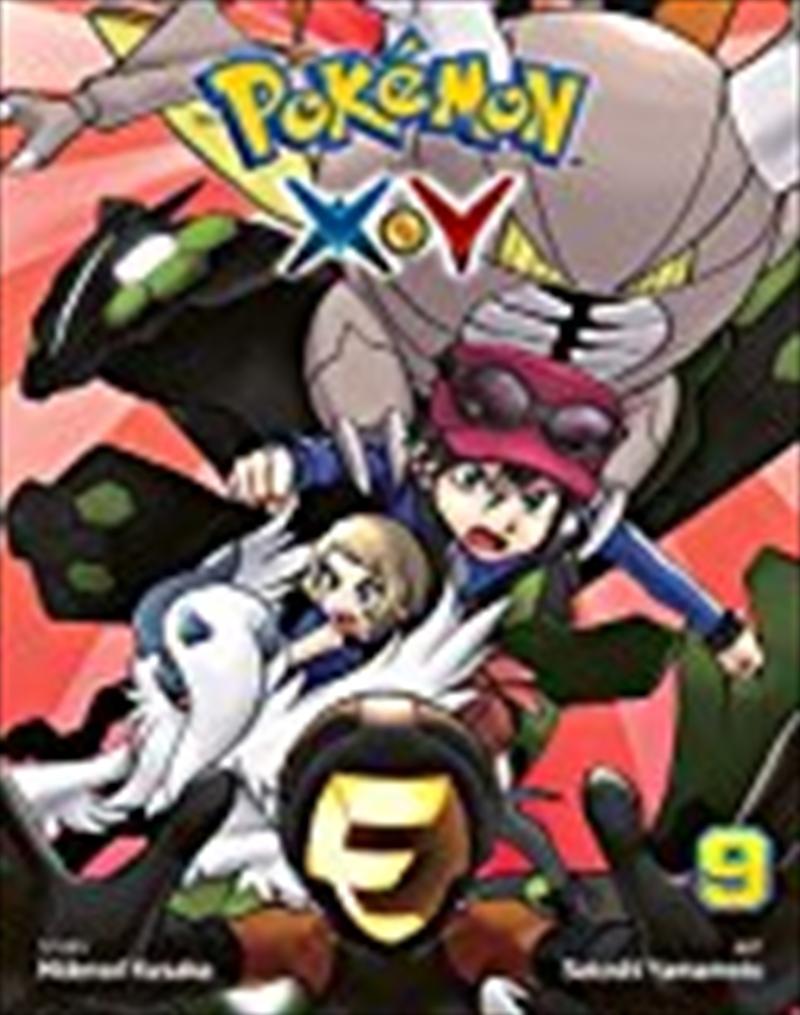 Pokémon X?y, Vol. 9 (9) (pokemon)   Paperback Book
