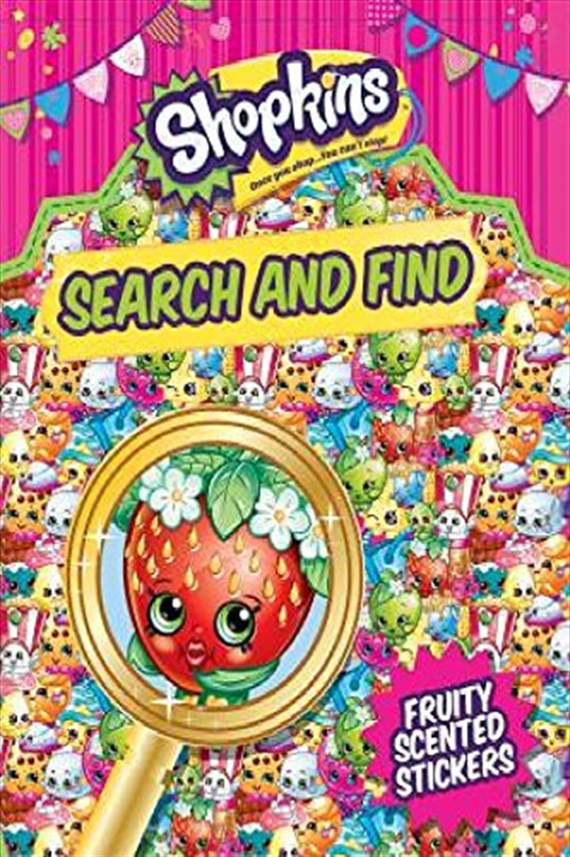 Shopkins: Search And Find (paperback) | Paperback Book