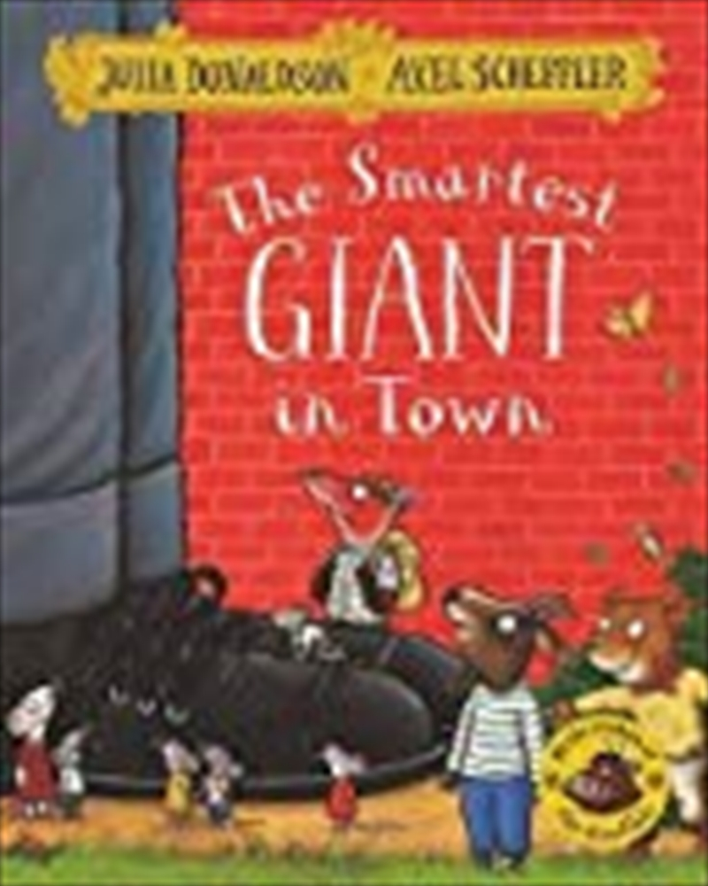 The Smartest Giant In Town | Paperback Book