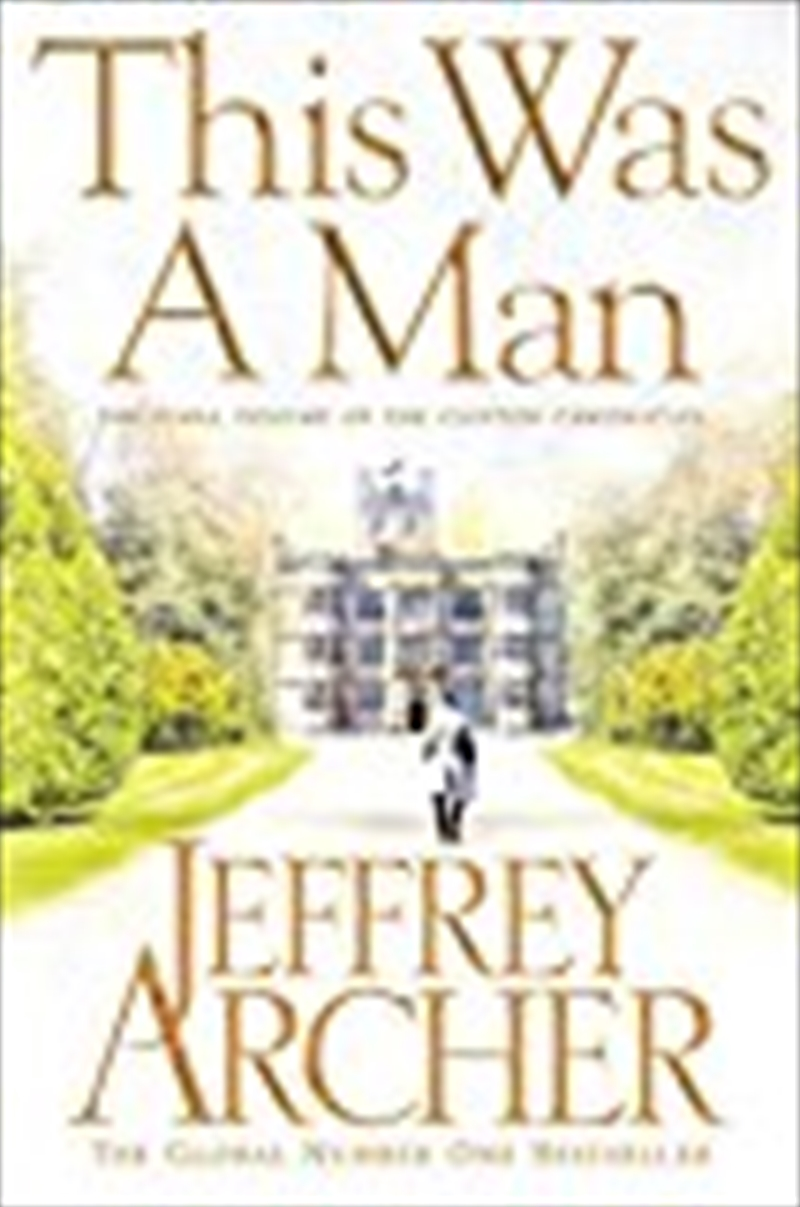 This Was A Man (the Clifton Chronicles) | Paperback Book