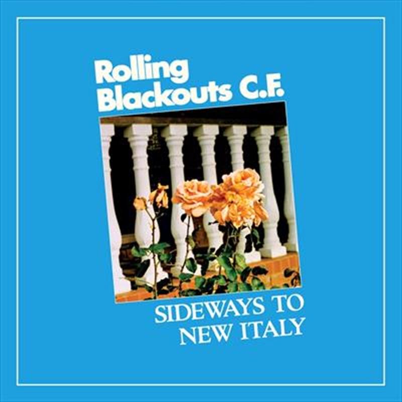 Sideways To New Italy - Sky Blue Coloured Vinyl (SIGNED POSTCARD)   Vinyl