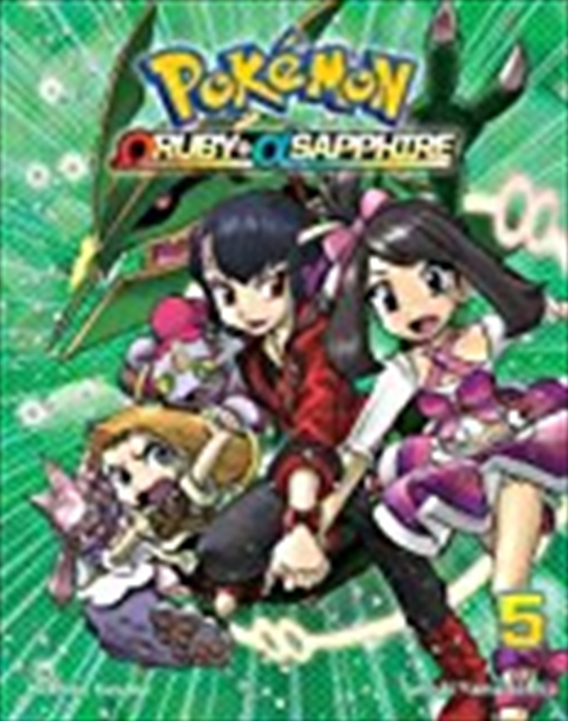 Pokémon Omega Ruby Alpha Sapphire, Vol. 5 (pokemon) | Paperback Book