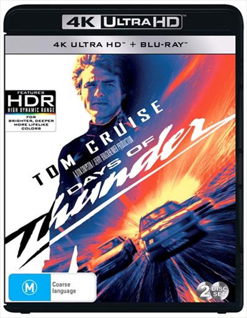 Days Of Thunder | Blu-ray + UHD | UHD
