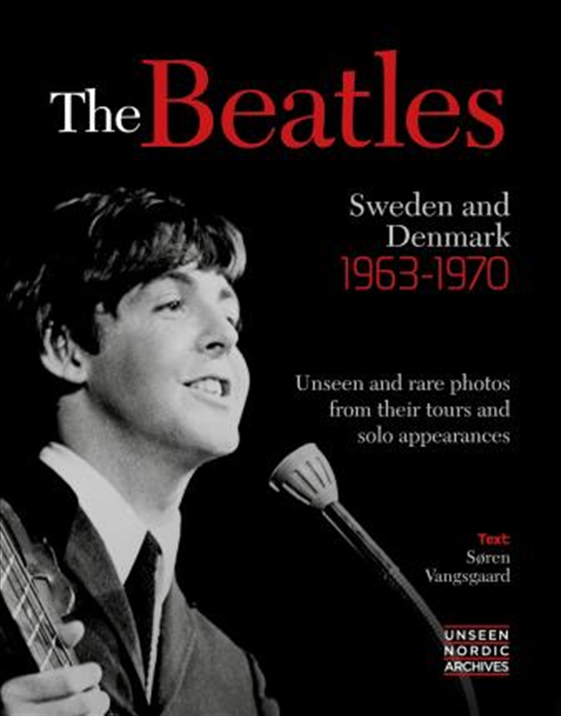 Beatles Sweden Denmark 1963-70   Hardback Book