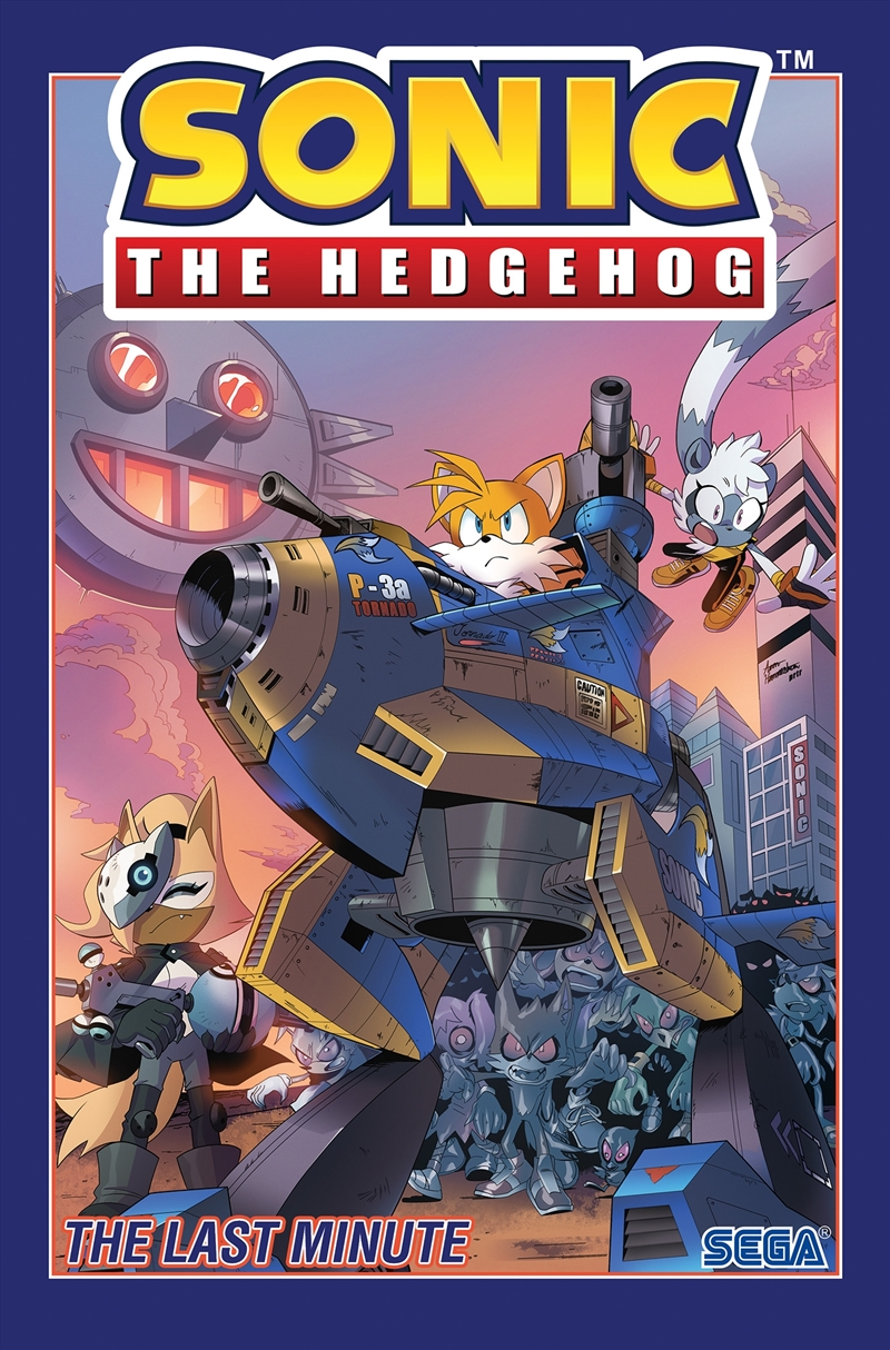 Sonic The Hedgehog, Vol. 6: The Last Minute | Paperback Book