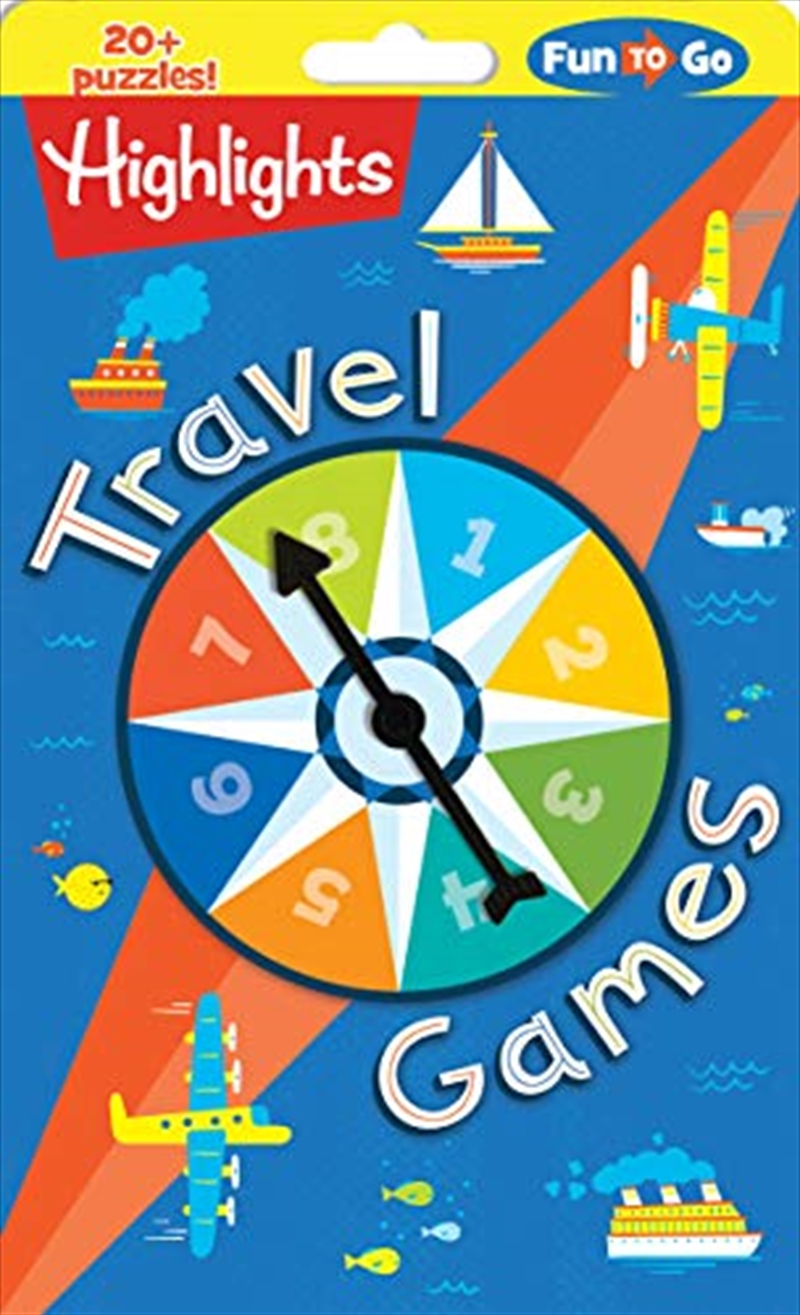 Travel Games (highlights Fun To Go) | Paperback Book